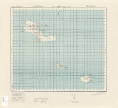 Cabo Verde Map Army Map Service Perry Castañeda Map Collection Ut Library Online