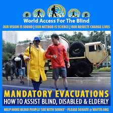 Houston In The Blind World Access For The Blind Hurricane Irma