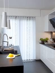 gardinen für die küche küchengardinen stoffe für wohn t räume
