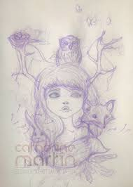 of the forest sketch by flashparade on deviantart