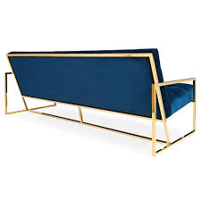 Sofa Seat Depth by Goldfinger Apartment Sofa Modern Furniture Jonathan Adler