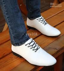 wedding shoes korea hot sell south korea style men casual shoes groom wedding shoes pu