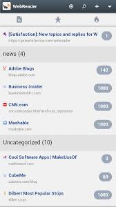 rss reader android android rss reader login with