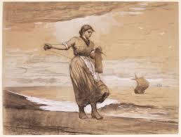 W Homer Artist by A Little More Yarn Fisher Knitting Winslow Homer Famsf