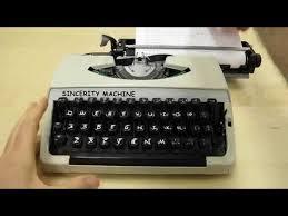Typewriter Meme - what is a comic sans typewriter