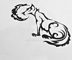 tattoo tribal wolf dire by xrc32 on deviantart