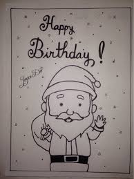 birthdaycard drawings on paigeeworld pictures of birthdaycard