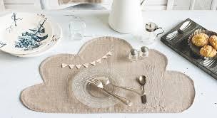 set de table originaux le set de table nuage à coudre et à broder prima