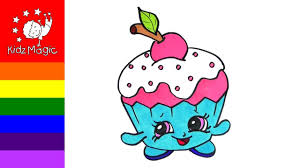100 shopkins coloring pages cupcake shopkins coloring pages