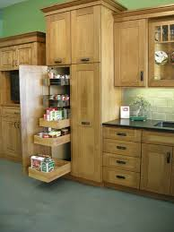 Kitchen Cabinets With Drawers That Roll Out by Dewils Pantry Cabinet With Rollout Storage Marc Coan Designs