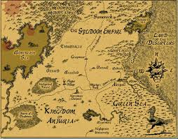 Radford University Map A Fantasy Reader Index Of Maps