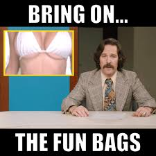 Bring It On Movie Meme - anchorman 2 the legend continues bring on the fun bags