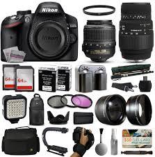 essentials bundle for nikon d3200 d3300 d3400 d5200 d5300