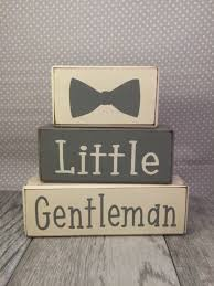 gentleman baby shower gentleman baby shower dapper baby boy stacking wood sign b