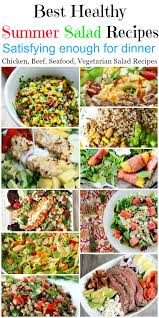Light Summer Dinners Best 20 Healthy Dinner Summer Salads Food Done Light