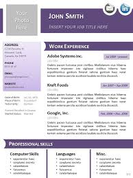 Resume Template Libreoffice Cv Template Libreoffice Professional Resumes Sle