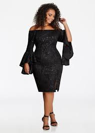 buy plus size lace dresses for women ashley stewart