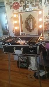 Makeup Artist Light Nyx X Large Makeup Artist Train Case With Lights Mugeek Vidalondon