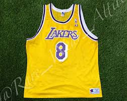 rare 1996 8 kobe bryant los angeles lakers nike jersey