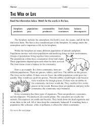 all worksheets biosphere worksheet free printable worksheets