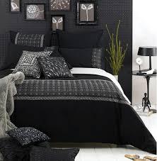 schwarzes schlafzimmer chestha schlafzimmer betten dekor