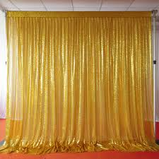 gold backdrop online shop 1 3m 3m shiny sequin backdrop pleated glitter