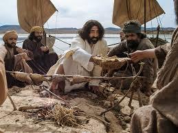 bible fun for kids jesus has breakfast u0026 returns to heaven
