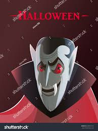 evil halloween background poster evil vampire halloween cartoon retro stock vector 488897143