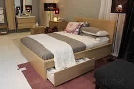 malm bed frame high w 2 storage boxes white lur 246 y malm high bed frame bed frame katalog 475f0a951cfc