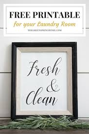 signs and decor free printable laundry room signs the greenspring home