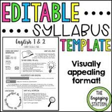 create a digital syllabus for the start of the semester with a