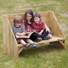 buy outdoor reading corner bench tts
