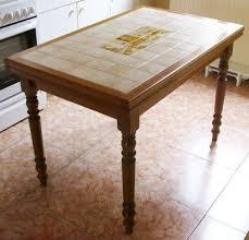 table de cuisine bois table de cuisine bois bloc de boucher meuble cuisine table ronde
