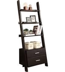 Large Ladder Bookcase Furniture Home Rustic Ladder Shelf Nz Ladder Bookcases At Walmart