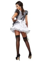 Maid Halloween Costumes Luxe French Maid Costume 01335 Fancy Dress Ball