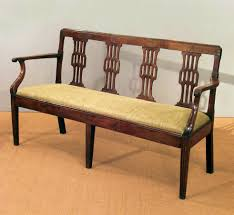 bedroom surprising wood set design antique wooden settee