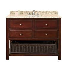 42 Bathroom Vanity With Top by Shop Ove Decors Danny Chocolate Undermount Single Sink Bathroom