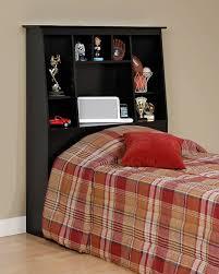 amazon com espresso twin tall slant back bookcase headboard