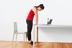 Computer Desk Stretches Great Yoga Stretches You Can Do At Your Desk