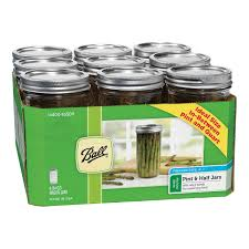 Kitchen Canisters Online Mason Jars Glass Jars Canning Jars And Lids At Ace Hardware