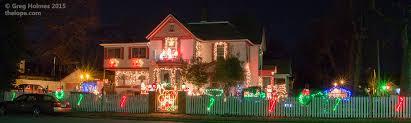 origin of christmas lights the lope christmas lights of webb city missouri updated for 2015