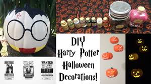 diy harry potter halloween decorations youtube