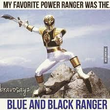 Power Ranger Meme - white and gold white and gold power ranger meme