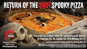 spirit halloween job application online the ynot italian spooky pizza