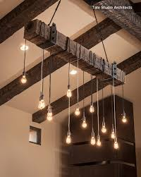 overhead lighting love this clever way of creating overhead lighting with an exposed