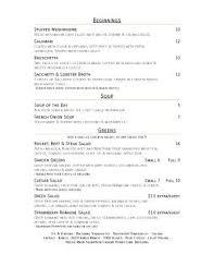 Dining Room Menu Picture Of Waterside Restaurant Lakeside Inn - Dining room menu
