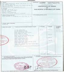 certificate of origin template excel for pinterest selimtd