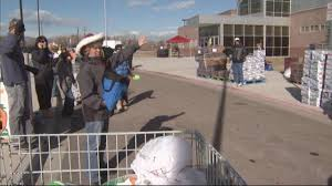 thousands get free thanksgiving dinner from jeffco center