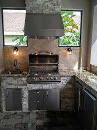 outdoor kitchen backsplash outdoor grill island backsplash more custom outdoor kitchen built