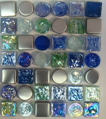 interior glass mosaic kitchen backsplash together with blue tile